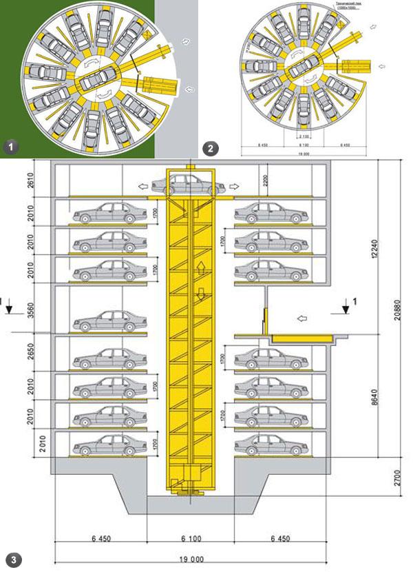 Нормы электроснабжения плоскостных автостоянок